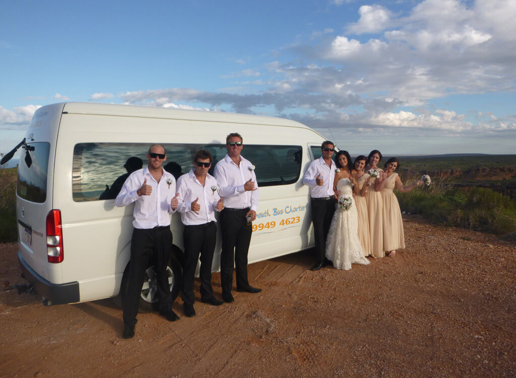 exmouth wedding group transfers